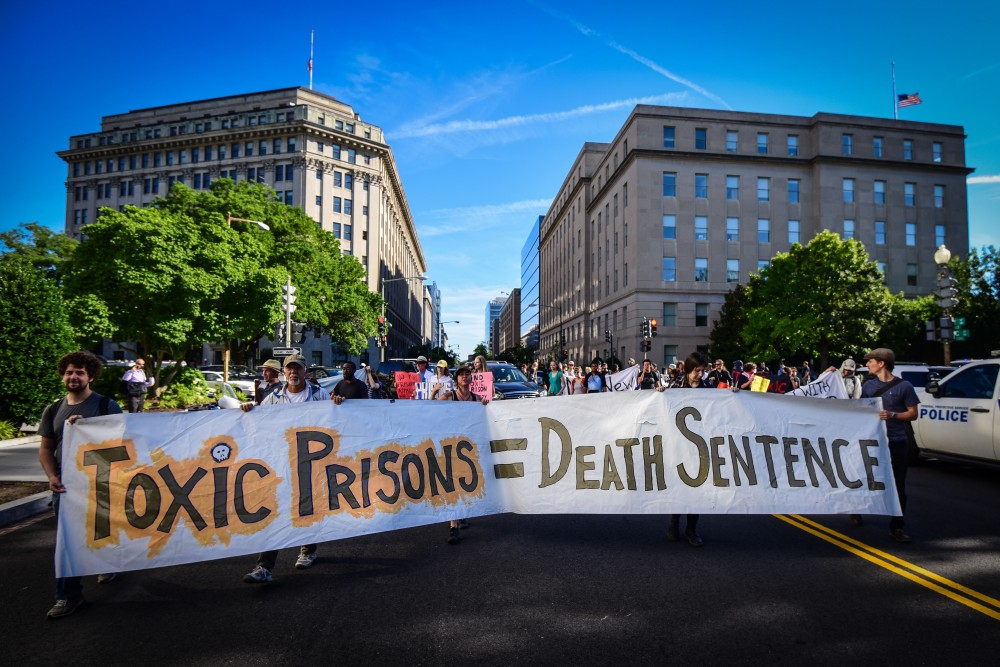 The Campaign to Fight Toxic Prisons goes International!