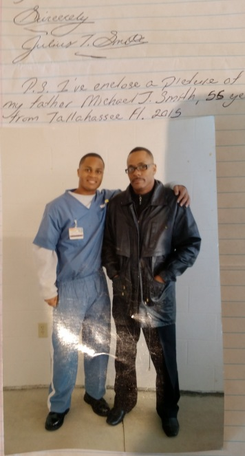 Julius Smith with Father