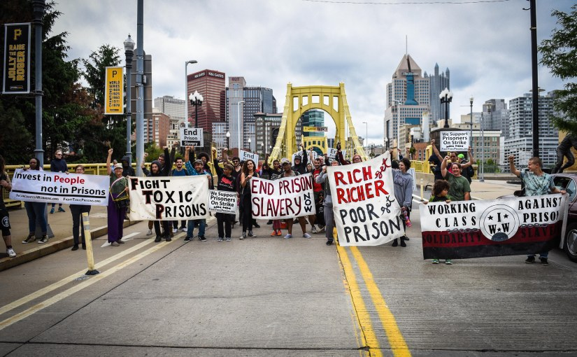 Prison Abolitionists Rally for Human and Environmental Health at Pittsburgh Polluters'Offices