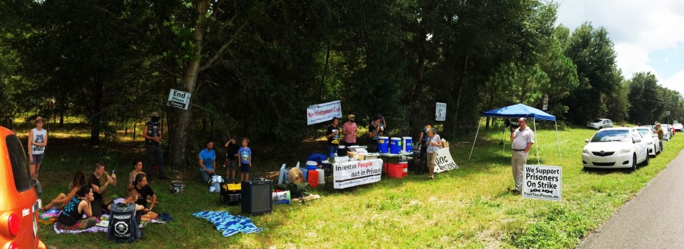 Occupy Prisons GNV day 1